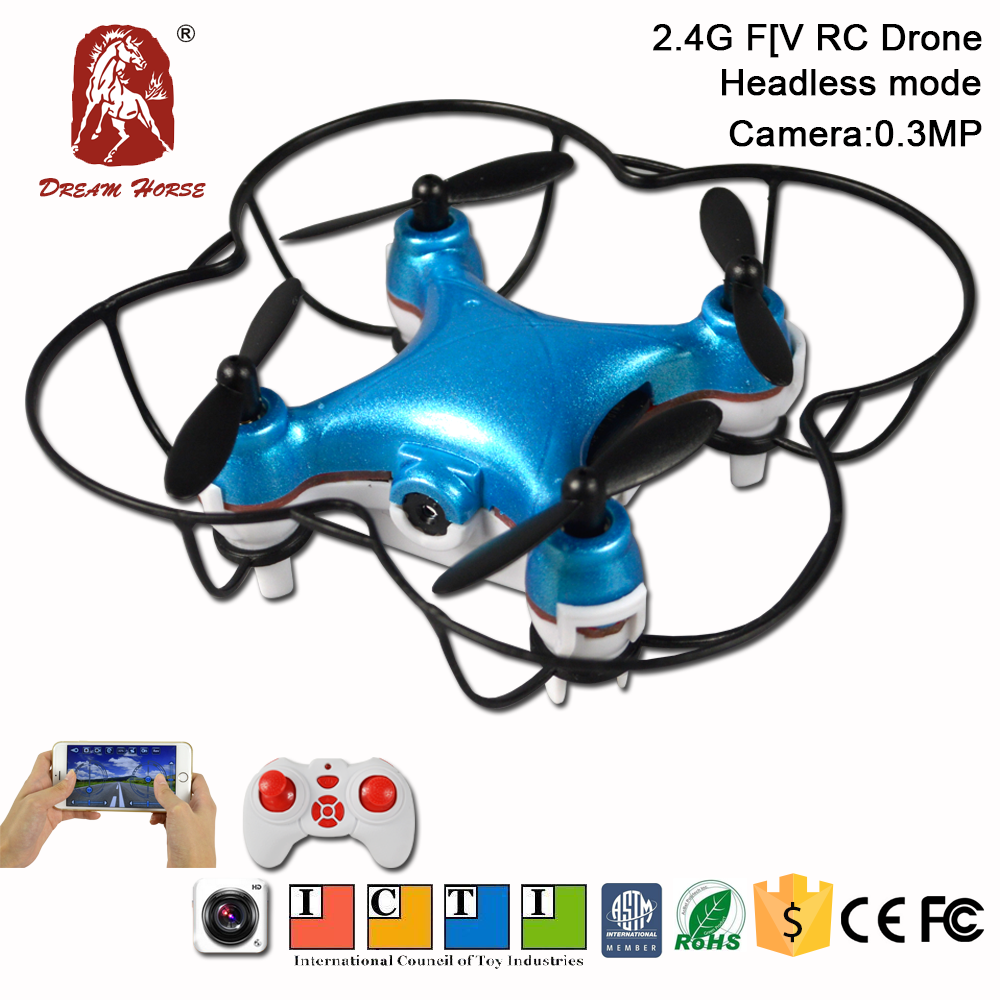Newest 2.4G WIFI mini rc drone with camera