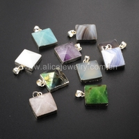 SS152 Latest natural stone sterling silver jewelry, 925 silver charms