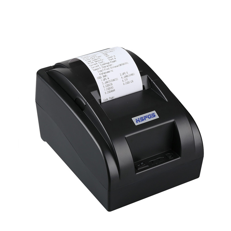 Vendita calda 58mm hotel bill receipt printer stampante termica USB prezzo in india con win10 driver per ESC/POS stampa