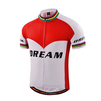 men cycling jersey short sleeve dri fit fabric