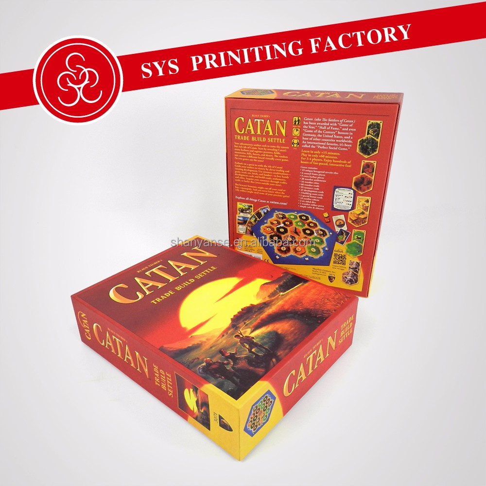 Card Catan adventure board game the 5th edition toys