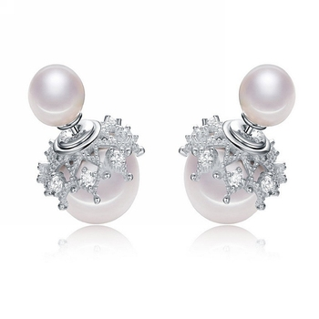 Hot Ing Latest Design Of Pearl Earrings Designs Chic Unique Pin Colored Fashion Earring