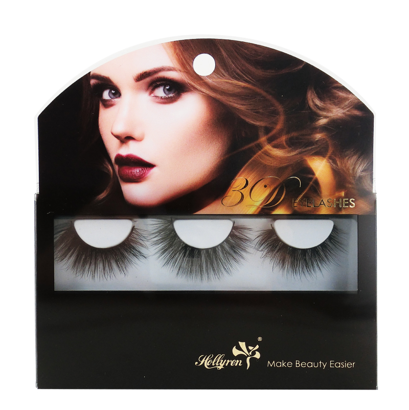 Lovely OEM Eyelash Box for 2Pairs 3Pairs 4Pairs 5Pairs Blue Box Eyelashes