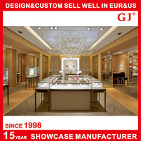 2015 Host Sale New Style jewelry mall showcase With Low Filing Cabinet
