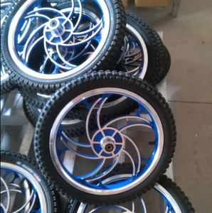 Entire wheelset BMX rubber wheel aluminum wheelset factory wholesale