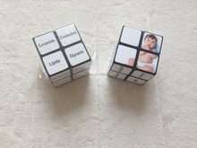 Top selling high quality plastic rubics cube