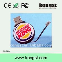 soft pvc usb flash drives 1g 2g 4g usb flash storage