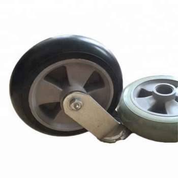 High Elastic Light Weight PU Wheel For Tool Cart