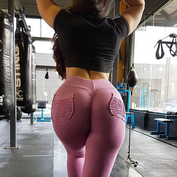 Fashion Colorful Yoga Pants Dropship Accepted Woman Breathable Butt Lifter Leggings for Fall