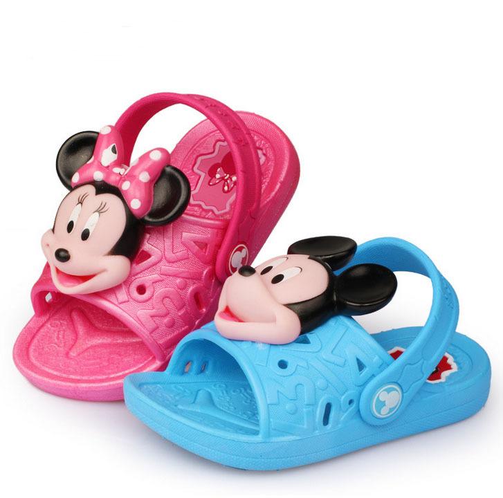 minnie mouse sandals girls sandals minnie shoes summer shoes swim shoe beach slipper brand cartoon beach