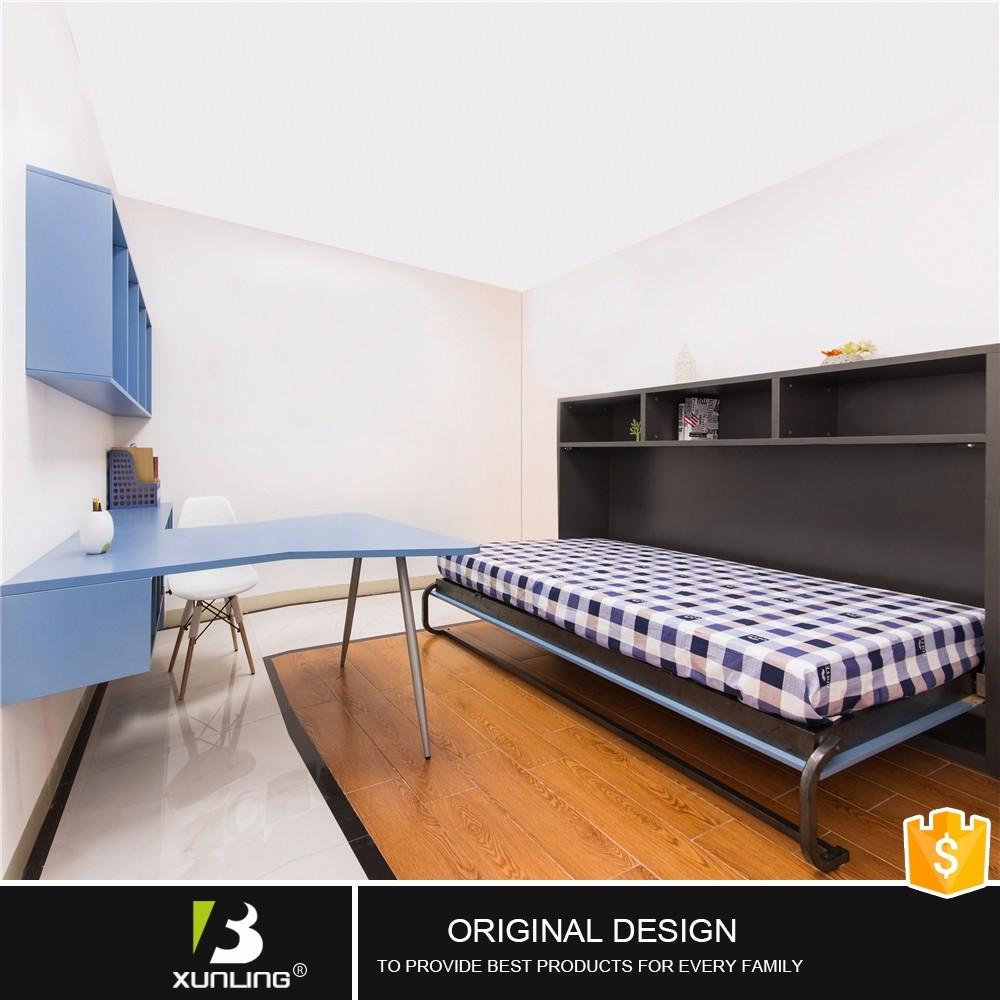 Ruimtebesparend Innovatieve Bed In Kast Custom Hout Bedden-bedden ...