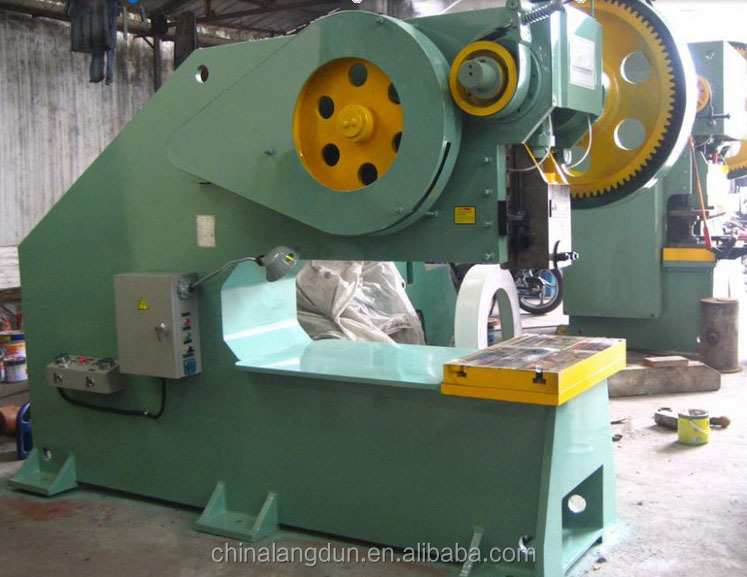 60ton Plastic T-shirt Bag Handle Hydraulic Punching Machine power press machine