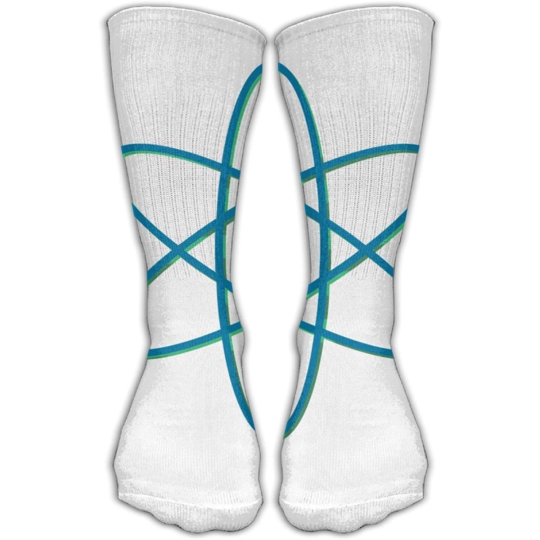 SESY Scientific Atom Unisex Crew Socks Short Sports Socks.