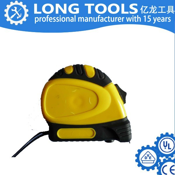 popular Magnetic hook auto-stop customized 5M steel tape measure