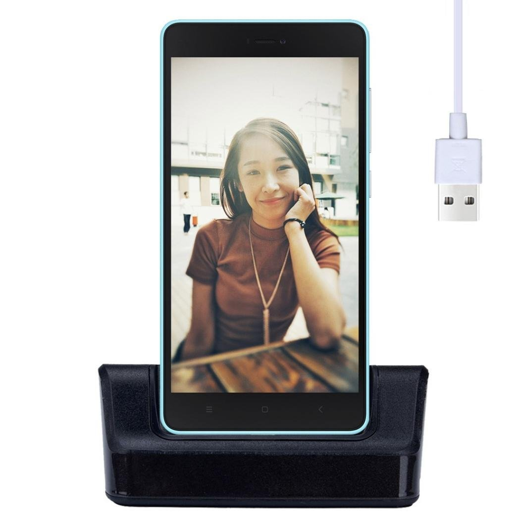 ONEMORES(TM) USB Type-C Dock Charge Cradle Docking Station USB Cable OTG For Xiaomi Mi 4C