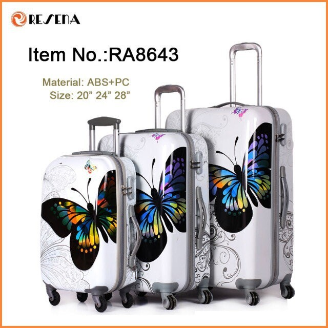 Lightweight Colorful Printed Carry On Luggage - Buy Carry On ...