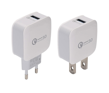 2018 universal Travel charger QC3.0 fast charger usb adapter travel adapter plug