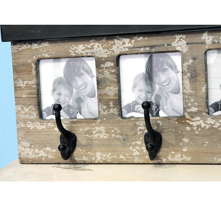 Vintage frame photo with hook wood picture frames - Vintage picture frames cheap ...