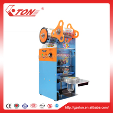 Commercial Semi-Automatic Boba Cup Sealing Machine Sealer