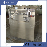 Factory supply stainless steel dairy milk juice small homogenizer