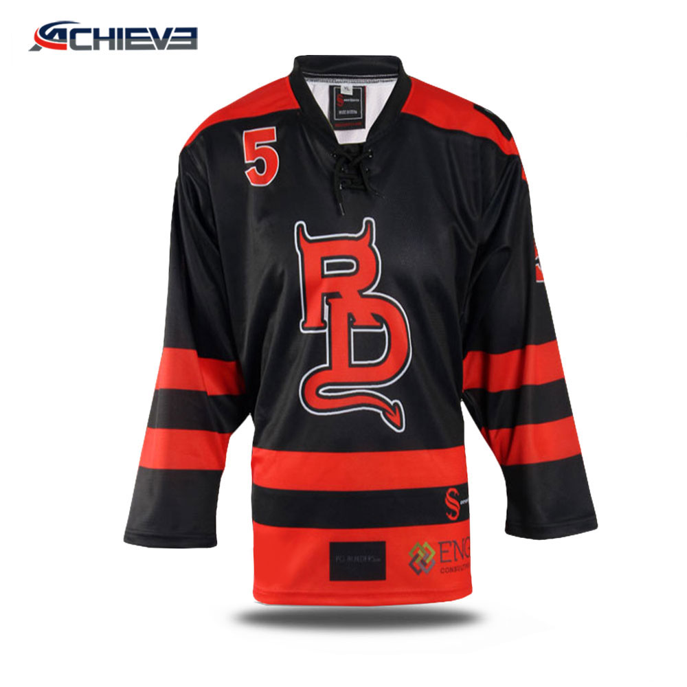 2018 cheap sublimation inline hockey jersey ice hockey jersey custom  reversible hockey jerseys 282aba51502