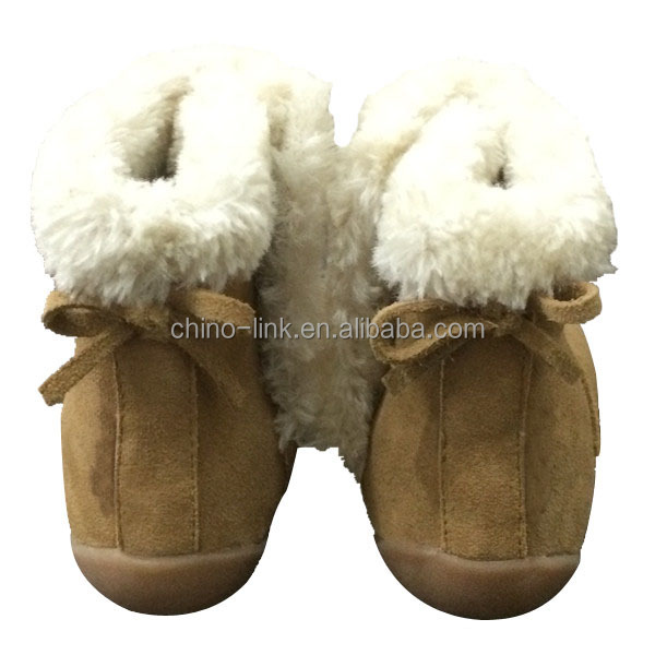 2015 popular design warm baby winter boots shoes