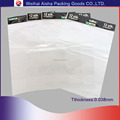OPP CPP Custom Branded Header Bag Resealable Pouch