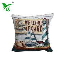 Home Textile indian woven jacquard cotton cushion cover