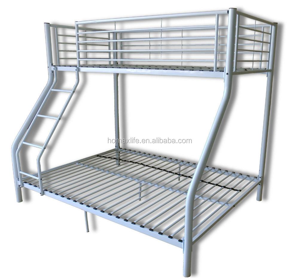 Cama para tres niños niños litera triple cama litera de metal-Camas ...