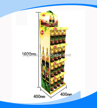 2018 Manufactured in China New Nechnology Widely Use Lipton Retail Display Rack for Beverage