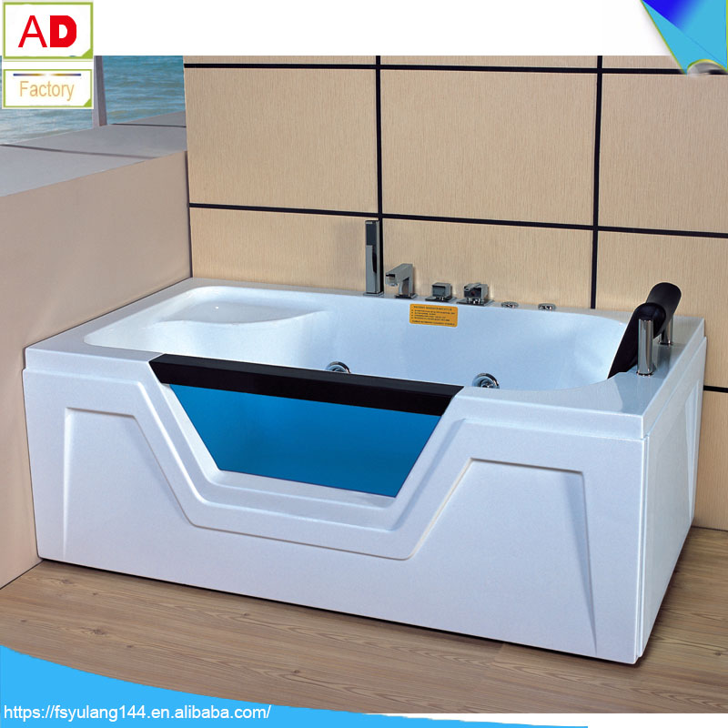 Ad-641 Acrylic Bathtub Liner Whirlpool Massage One Person Adult ...