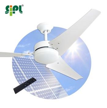 Techo Ac Dc Led De Homestead De No Breeze Incluido Energía Híbrido Solar ''solar 40w 60 Ventilador Lámpara La Eléctricos De Ventilador De Potencia trQhds