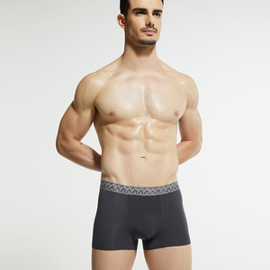 Wholesale Solid Color Traceless Breathable Sexy Men Modal underwear