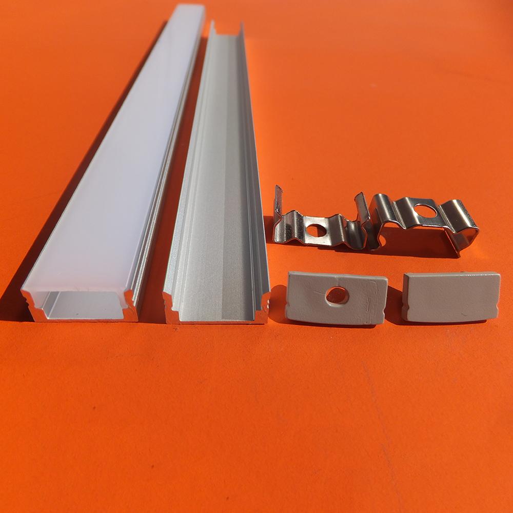 Shenzhen cheap price rgb led strip aluminium led profile and aluminium profile for hard led strips