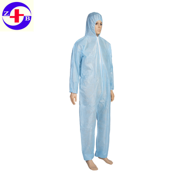 Disposable Hazmat Suit Plastic Waterproof Coverall - Buy Disposable Plastic  Waterproof Coveralls,Plastic Waterproof Coveralls,Hazmat Suit Product on