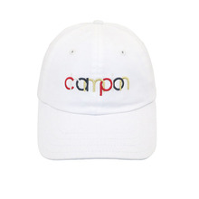 2D embroidery 6 panel baseball cap promotion cotton hats