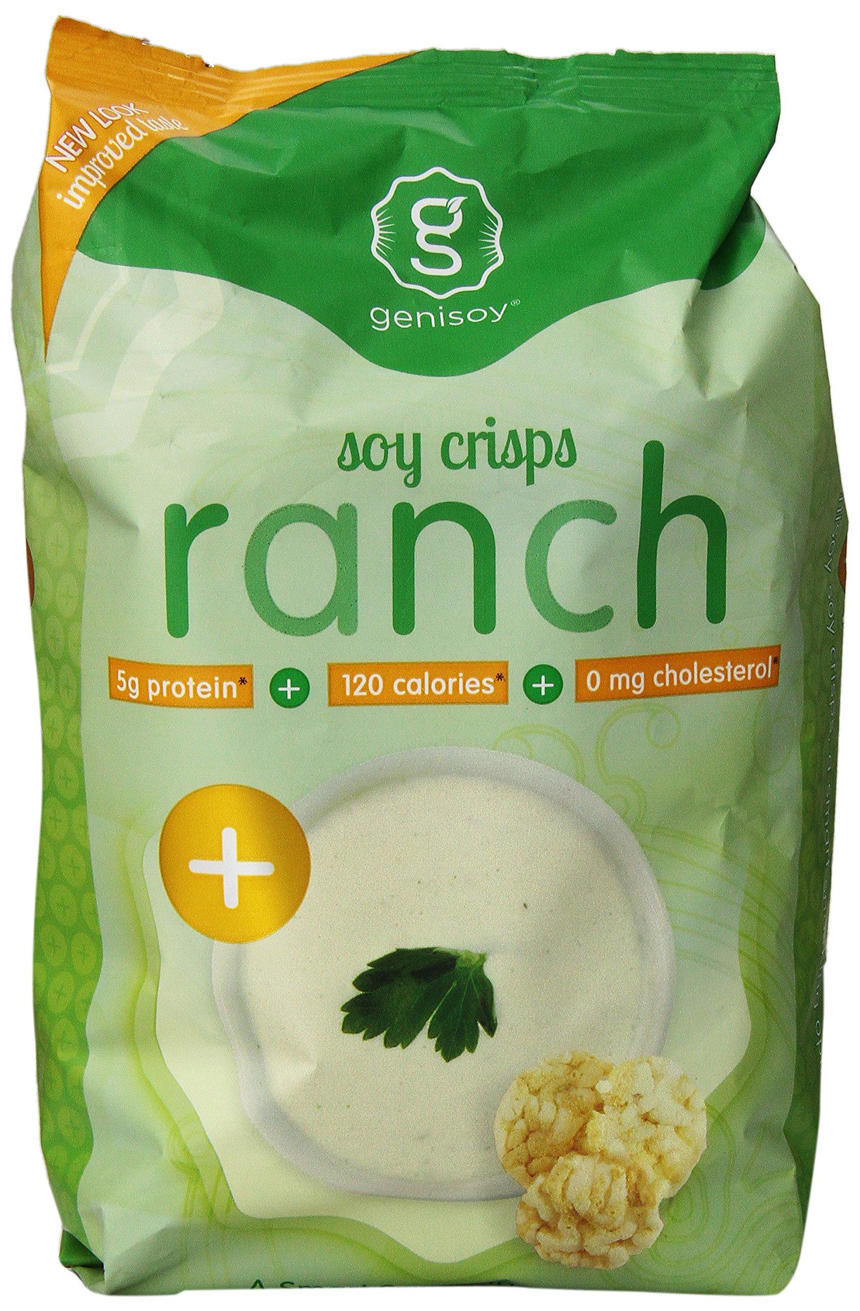 Genisoy, Creamy Ranch Soy Crisps, 3.85 oz