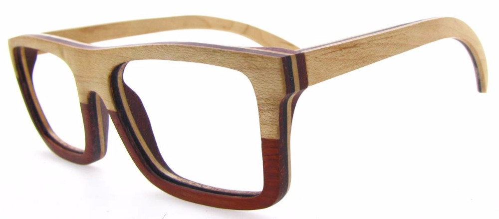 High Quality Unisex Age Bamboo Wood Eyeglasses Frames Made ...