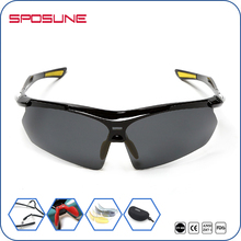 Novelty high quality rimless one size fits all adult Convertible Sports Sunglasses Eyewear