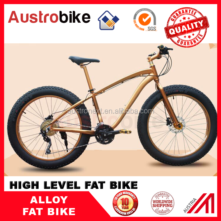 "hot selling Aluminium Alloy Fat Tire bike 26""x4.0 27 29 inch fatbike"