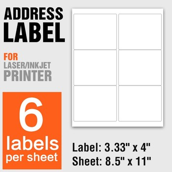 Strong Adhesive Letter Size Shipping Tab For Ebayusps