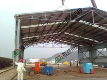 Mobile Steel Structure Workshop/Warehouse