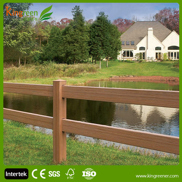 High Quality Wood Plastic Composite Waterproof Fencing