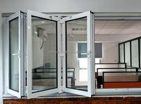 Popular Aluminium Window and Doors Aluminium Bi-folding Window