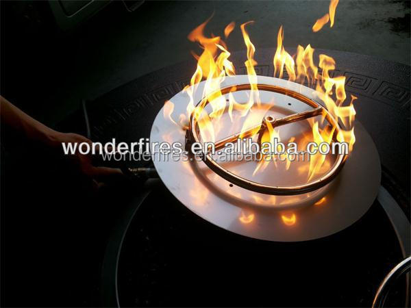 Stainless Steel Outdoor Asia Fire Pit Pan Propane Burner