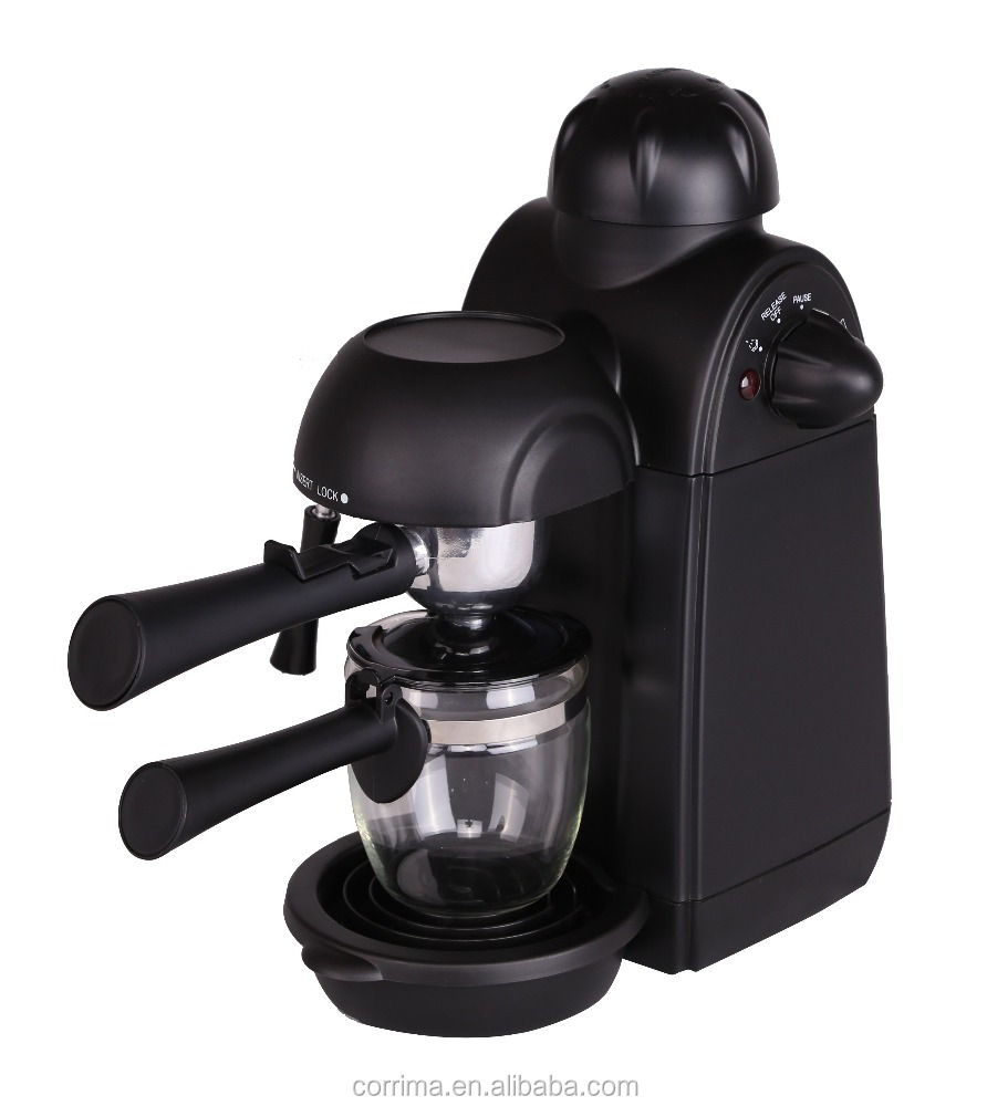 Single brew coffee makers Steam 4 cup coffee maker