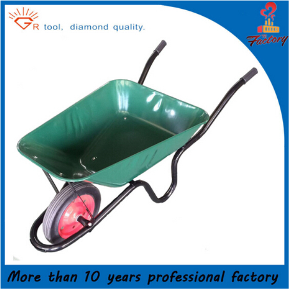 Heavy duty load construction and building WB3800 wheelbarrow