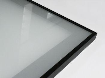 on kitchen door aluminium frame