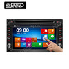 1080p gps bluetooth 2din 6.2inch touch screen radio for cars