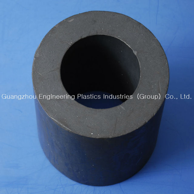 wear resistance black Teflon PTFE tube acid and heat resistant tube